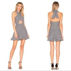 😍 TULAROSA cotton revolve open back Julia dress
